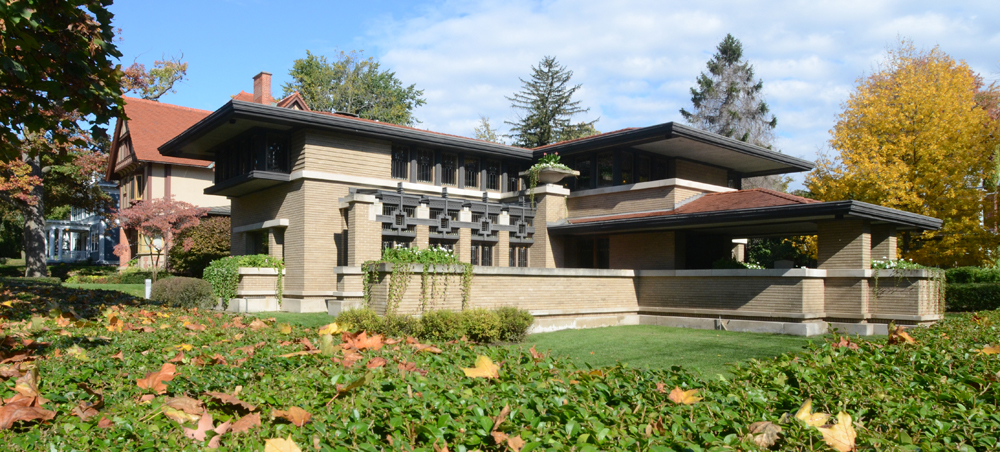 Meyer May House Wright In Racine