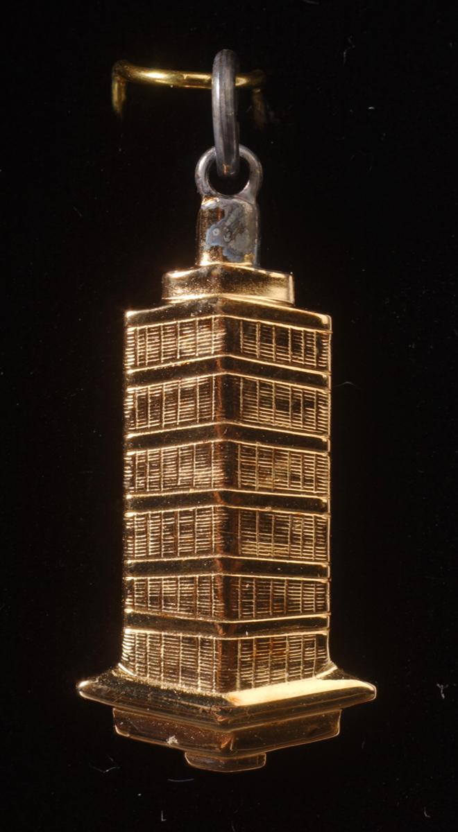 Tower Tiffany Pin